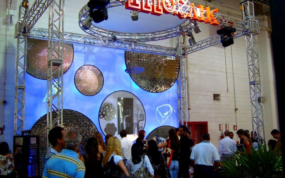 Estande Mozaik – Feira Revestir SP – 2009